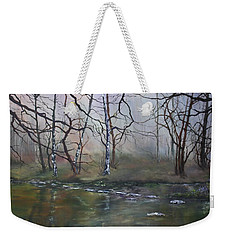 Stepping Stones On Cannock Chase Weekender Tote Bag