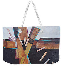 Stepping Up Weekender Tote Bag by Nancy Jolley