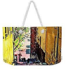 Steps At 187 Street Weekender Tote Bag by Sarah Loft