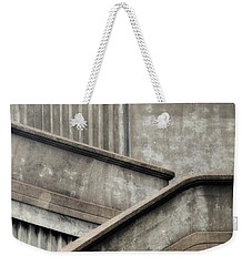 Weekender Tote Bag featuring the photograph Steps by Newel Hunter