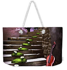 Steps Of Happiness Weekender Tote Bag by Mihaela Pater