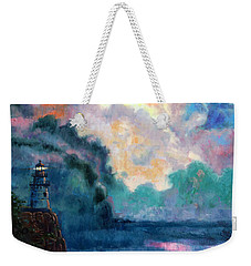 Steps To The Lighthouse Weekender Tote Bag