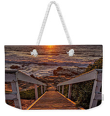 Steps To The Sun  Weekender Tote Bag by Peter Tellone