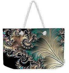 Sterling Feather Weekender Tote Bag