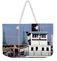 Sternwheeler, Portland Or  Weekender Tote Bag