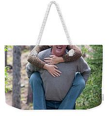 Steve And Karen Weekender Tote Bag