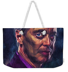 Steve Buscemi Actor Painted Weekender Tote Bag by David Haskett