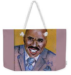 Steve Harvey Weekender Tote Bag by P J Lewis