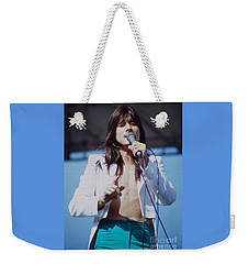 Steve Perry Of Journey At Day On The Green Ca - July 1980 Weekender Tote Bag