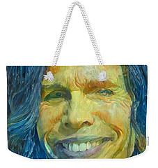 Steven Tyler Weekender Tote Bag by Paul Van Scott