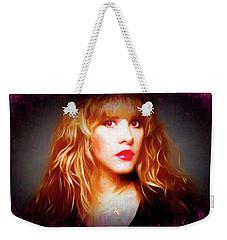 Stevie Nicks Drawing Weekender Tote Bag
