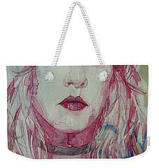 Stevie Nicks - Gypsy  Weekender Tote Bag