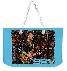 Stevie Ray Weekender Tote Bag