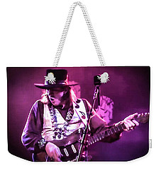 Stevie Ray Vaughan - Change It Weekender Tote Bag