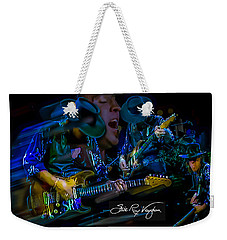 Stevie Ray Vaughan - Double Trouble Weekender Tote Bag