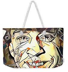 Stevie Ray Vaughan Weekender Tote Bag by Paul Van Scott