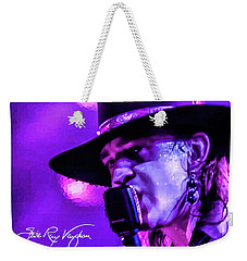 Stevie Ray Vaughan- Voodoo Chile Weekender Tote Bag