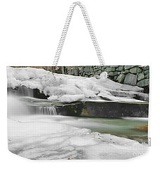 Stickney Brook Falls Weekender Tote Bag