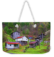 Stike Holler Weekender Tote Bag by Dale R Carlson