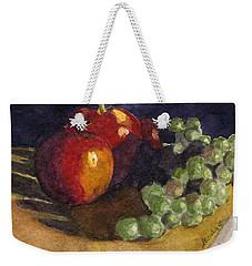 Still Apples Weekender Tote Bag