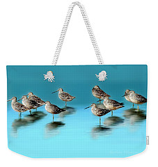 Weekender Tote Bag featuring the photograph Still Awareness by Barbara Chichester