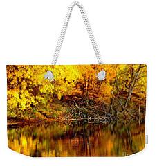 Still Gold Weekender Tote Bag