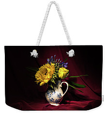 Still Life 3 Weekender Tote Bag by Matt Malloy