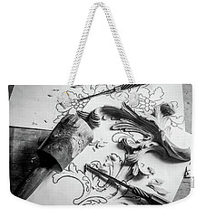 Still Life Carving Still Life Weekender Tote Bag