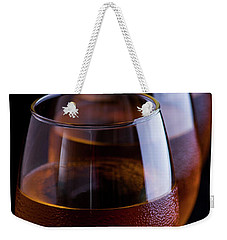 Weekender Tote Bag featuring the photograph Still Life Drinks by Ester Rogers