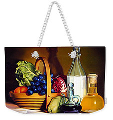 Still Life In Oil Weekender Tote Bag by Patrick Anthony Pierson