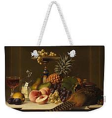 Still Life Weekender Tote Bag by Johann Wilhelm Preyer