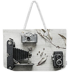Weekender Tote Bag featuring the photograph Still Life Number 2 by Keith Hawley