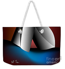 Still Life Of Intimacy Weekender Tote Bag by Leo Symon