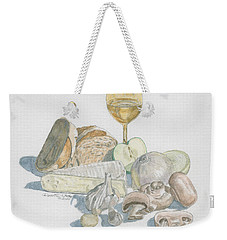 Still Life Of White Food Weekender Tote Bag