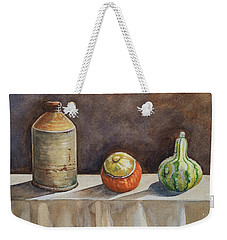 Still Life On A Table Weekender Tote Bag