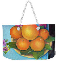 Still Life Oranges And Grapefruit Weekender Tote Bag