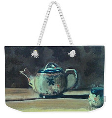 Still Life Teapot And Sugar Bowl Weekender Tote Bag