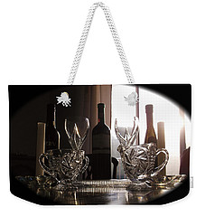 Still Life - The Crystal Elegance Experience Weekender Tote Bag by Shawn Dall
