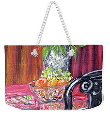 Still Life. Welcome Weekender Tote Bag