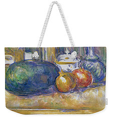 Still Life With A Watermelon And Pomegranates Weekender Tote Bag