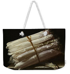 Still Life With Asparagus, 1697 Weekender Tote Bag
