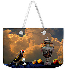 Still Life With Bird Weekender Tote Bag