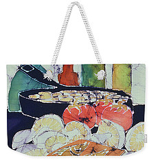 Still Life With Blues Weekender Tote Bag