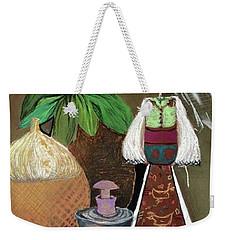 Still Life With Countru Girl Weekender Tote Bag