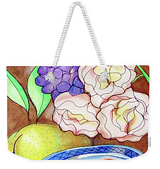 Still Life With Fish Weekender Tote Bag by Loretta Nash