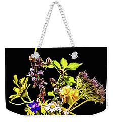 Still Life With Flowers Paint Weekender Tote Bag