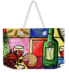 Still Life With Fruit And Wine #300 Weekender Tote Bag