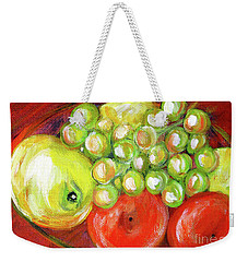 Still Life With Fruit. Painting Weekender Tote Bag