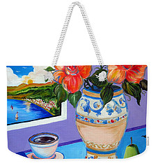 Still Life With Holy Bible Weekender Tote Bag