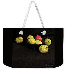 Still Life With Horse Apples Weekender Tote Bag by Joe Jake Pratt